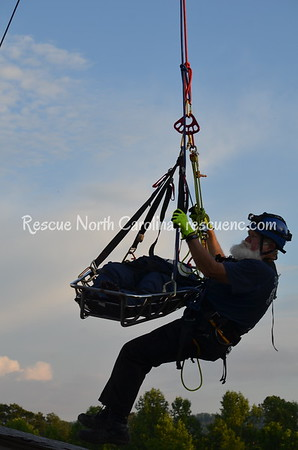 Valleytown Fire Dept.; TR Rope Rescue; July 2018