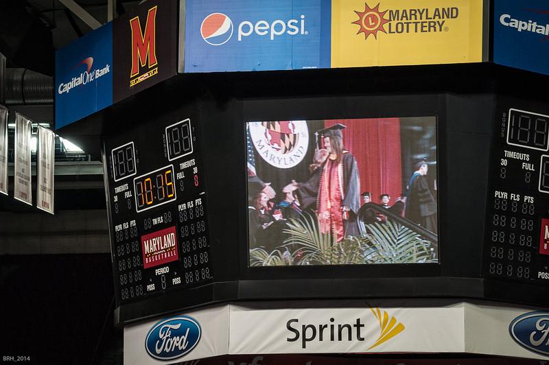 Carlie accepting congrats as a Smith grad.jpg