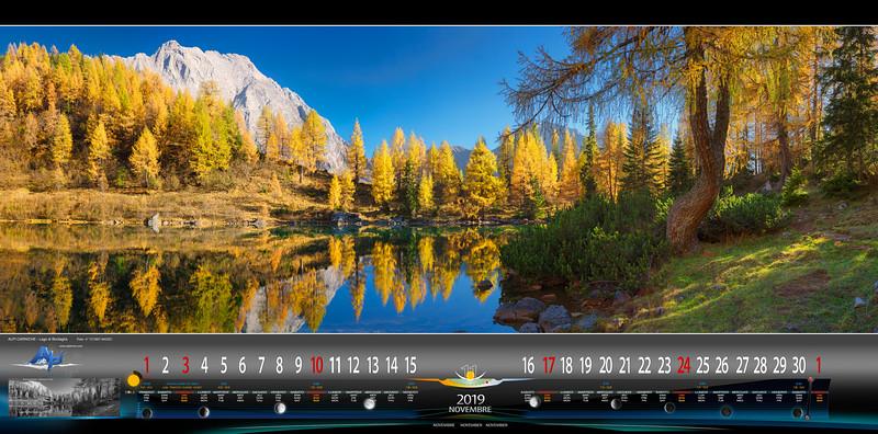 Novembre - Lago di Bordaglia