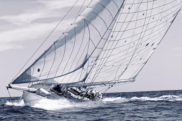 Classic Sail - B&W