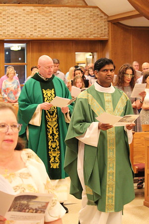 Fr. Rex 1st Mass and Reception