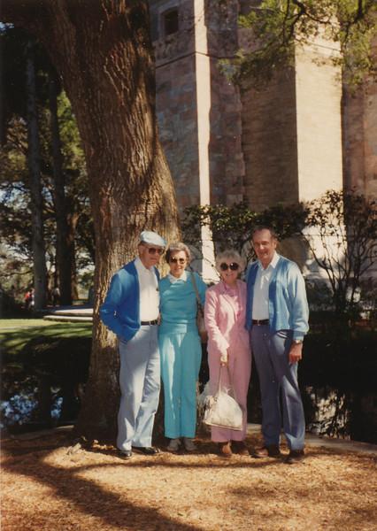 Marion & Eliza Mae Clark, Eileen & Ellis Sullivan 1988.jpg
