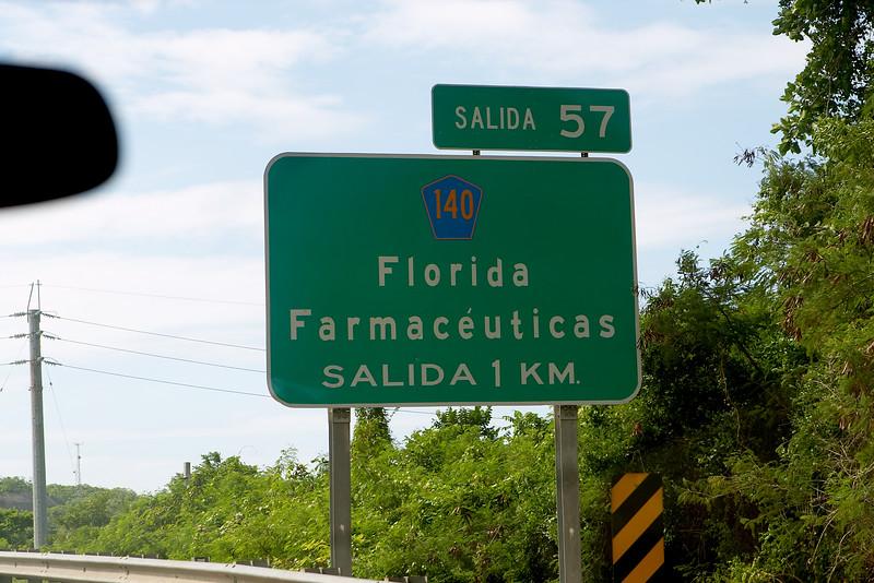 We arrive at Florida