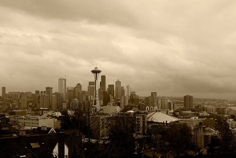 The Seattle skyline from a different location