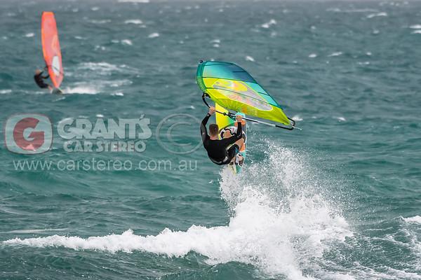 North Beach windsurfing - 16/12/2018