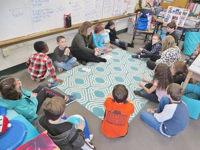 Classroom of the Week: Grade 3 taught by Erin Hart at Allendale Elementary School.