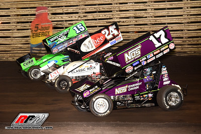 Knoxville Nationals - Knoxville Raceway - 8/8/18 - Paul Arch