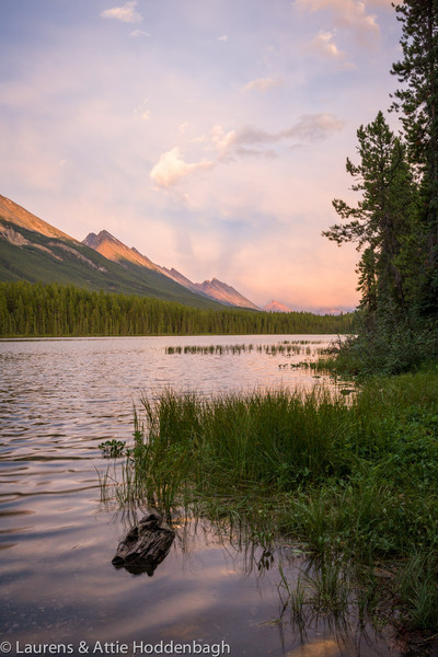Honeymoon Lake, Jasper National Park, Alberta, CA