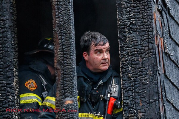 3 Alarm Structure Fire - 11 Oakland Ave, Everett, MA - 4/19/17