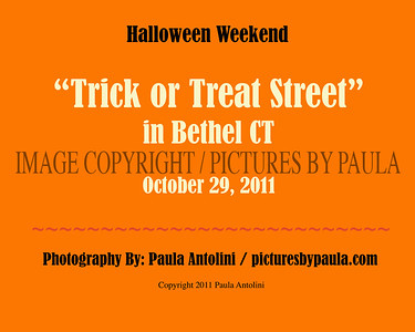"""HALLOWEEN EVENTS: """"TRICK OR TREAT STREET"""" in Bethel CT ~ October 29, 2011"""