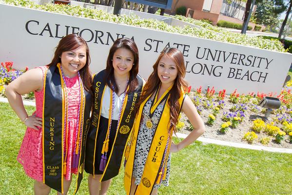 Regine, Bea, and Shelli's Graduation Portraits