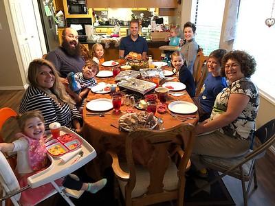 2018-11-22 Thanksgiving Dinner