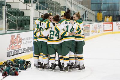 Women's Hockey Senior Night 2014