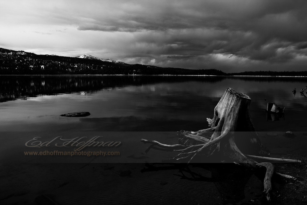 IMG_0690, Upper Payette Lake,Idaho Idaho,Black and White Fine Art.