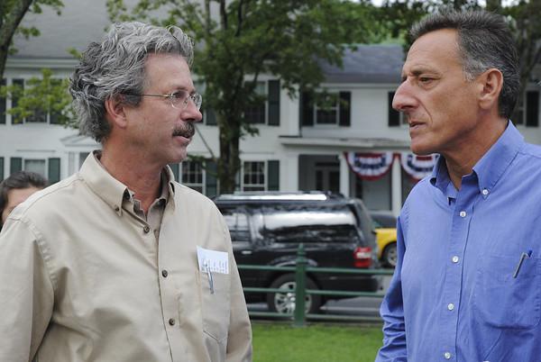 Governor Shumlin In Woodstock