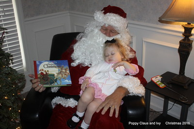 2016 Christmas Poppy Claus and Ivy