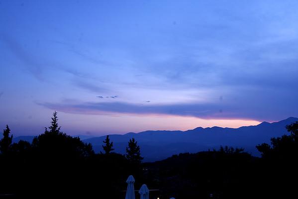 Delphi, Greece @ Night - 7/5/2009