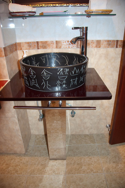 Our fashionable and modern sink.