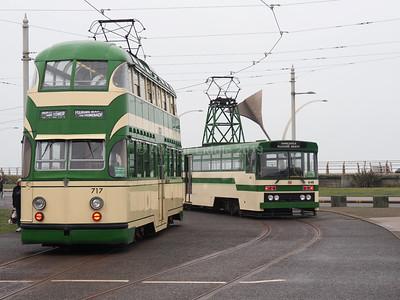 Heritage trams 648 & 717