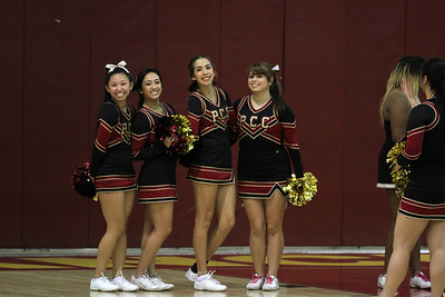 PCC Cheer January Basketball 2014