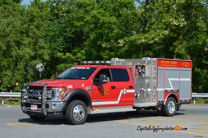 Penn Township Mini Pumper 50: 2018 Ford F-550/Darley 1500/300/25