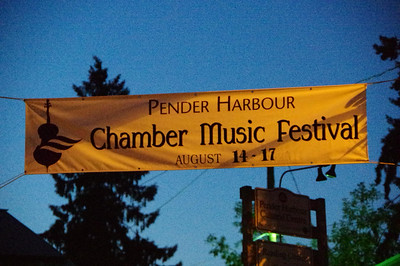Pender Harbour Chamber Music 2014