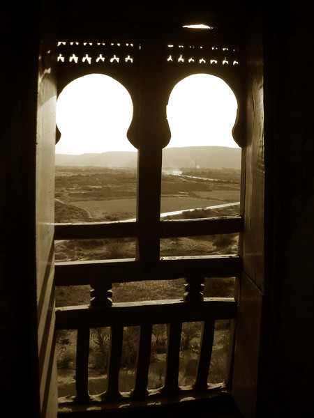 window in the Sultan's Palace