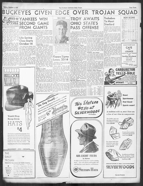 Daily Trojan, Vol. 29, No. 16, October 08, 1937