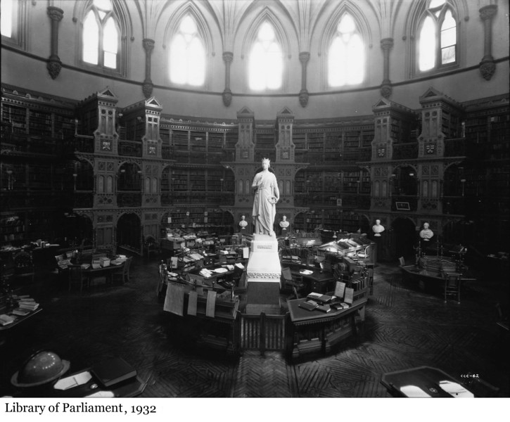 Library of Parliament - Bibliothèque du Parlement, 1932