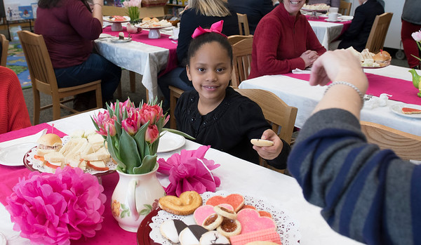 Grade 3 Valentine's FaculTea Feb. 2017