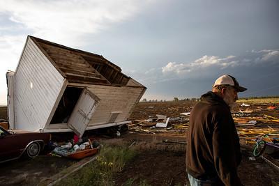 Photos: Tornado East of Longmont June 7, 2021