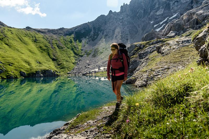 Along Blue Mountain Lakes