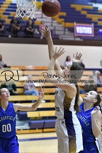 Lady Laker Basketball vs Marshfield 2/15/18