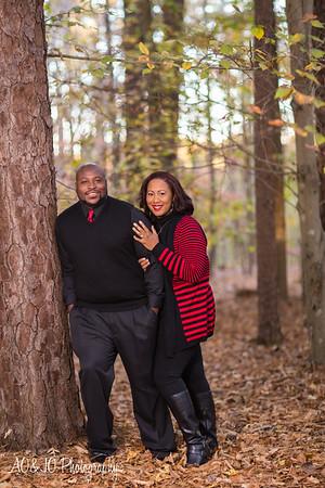 Shalisha & AJ ::Married & Bright :: William B. Umstead Park :: AO&JO Photography (Raleigh Portrait Photographer)