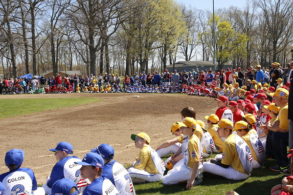 Little League Opening Day in Windsor Locks