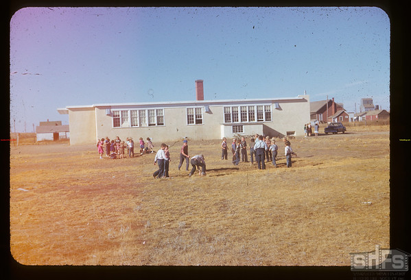 Frontier school - Citizenship Day.  Frontier.  10/23/1952