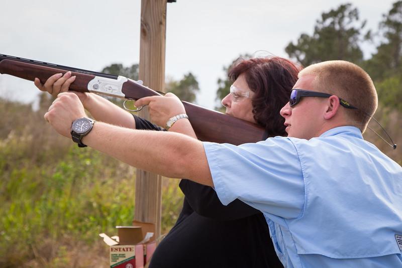 Mosaic - Clay Shooting at Steamsong