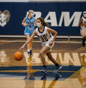 Girls JV Basketball 2/4