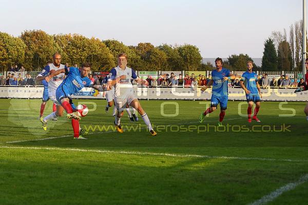 Shaw Lane v Barrow AFC (FA Cup 4th round qualifying) 15 - 10 - 17