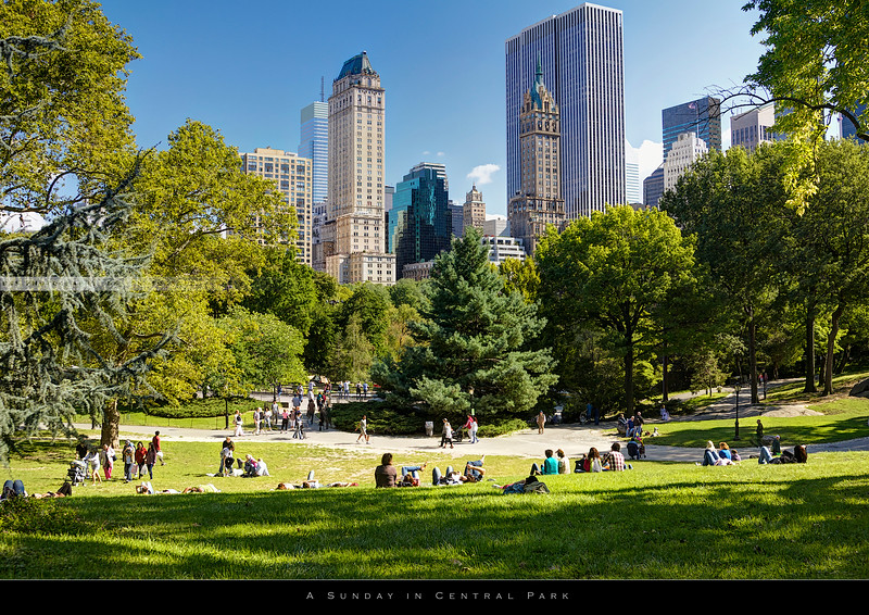 Sunday in Central Park