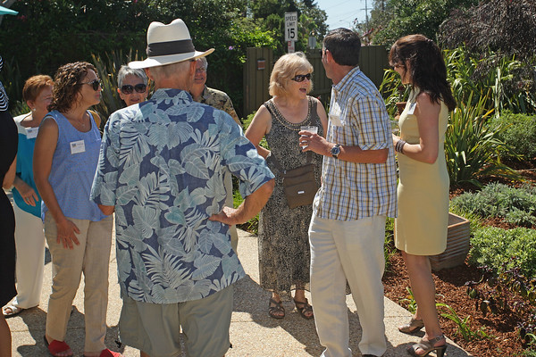 09-15-14: Helen Thayer Reception by the Sharps