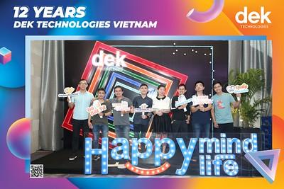 DEK TECHNOLOGIES | Year End Party 2020 instant print photo booth @ Gala Center Wedding & Convention | Chụp hình in ảnh lấy liền Tất niên 2020 tại TP Hồ Chí Minh | WefieBox Photobooth Vietnam