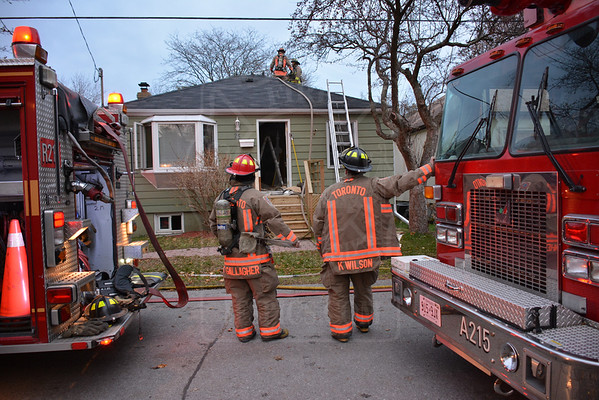 November 15, 2013 - Working Fire - 25 Bush Dr.
