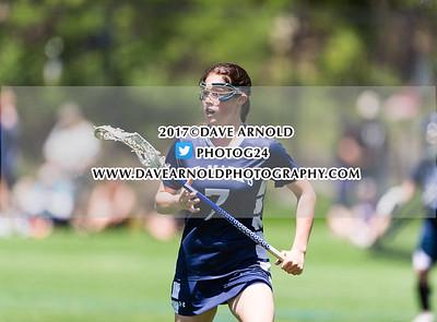 5/20/2017 - Girls Varsity Lacrosse - ISL Tournament Quarterfinal - St. Mark's vs Thayer