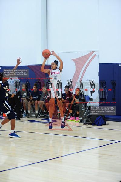 Edison (VA) Girls Varsity Basketball 12-13-19 | She Got Game