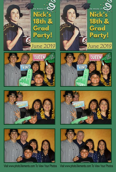 Nick's 18th and Grad Party 2019