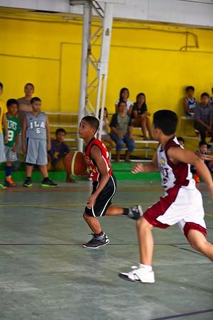 Elementary Basketball SFAMSC vs LCSI 2013