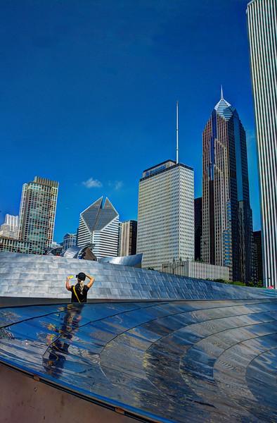 Chicago 2015 Skyline and a someone's selfie.jpg