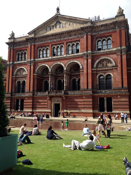 Day 10:  Victoria and Albert Museum