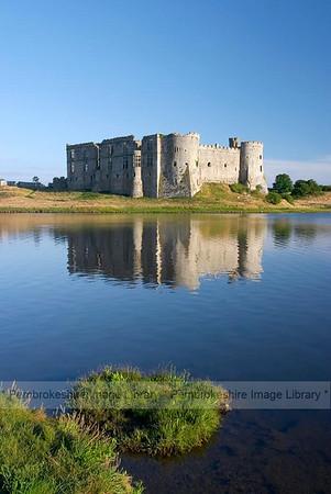 Carew Castle.